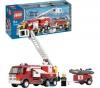 LEGO City - Feuerwehrlöschzug - 7239 + City - Feuerwehr Pick Up und sein Anhänger - 7942