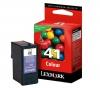 LEXMARK Druckerpatrone N° 41 - Farbe + USB-Kabel A männlich / B männlich 1,80m