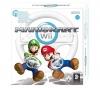 NINTENDO Mario Kart (inklusive Lenkrad Wii Wheel) + Wii-Fernbedienung Plus schwarz [WII] + Power Station für Wiimotes - schwarz