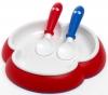 BABYBJORN Mini-Set für Speisen rot