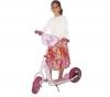 D ARPEJE TROTTINETTE HELLO KITTY + Tasche mit Schützern und Sturzhelm Hello Kitty + Fahrrad- und Tretrollerzubehör Hello Kitty: Trinkflasche - Klingel - Korb