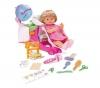 FAMOSA Nenuco Babypuppe 42 cm mit Friseur-Salon