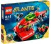 LEGO Atlantis - Neptuns U-Boot - 8075 + Atlantis - Atlantis-Hauptquartier - 8077
