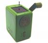 KIKKERLAND Solar-Radio mit Kurbel + Mini-Staubsauger: Henry der Staubsauger