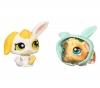 HASBRO Littlest Petshop - Petshop Duo oder mit Zubehör Kaninchen und Meerschweinchen - 94126