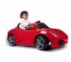 FEBER Ferrari F430 Einsitzer 6V + 6V-Akku 10Ah für Kinder-Auto