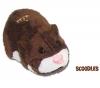 GIOCHI PREZIOSI ZhuZhu Pets - Hamster Scoodles braun + ZhuZhu Pets - Bett/Decke - rosa + 4 LR03 (AAA) Alcaline Xtreme Power Batterien + 2 gratis