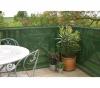 NORTENE 80%iger Sichtschutz für Garten und Balkon - 1,2m x 10m - Grün