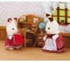 SYLVANIAN Sylvanian Families Hasenmädchen und Schreibtisch - 2204