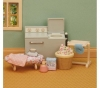 SYLVANIAN Sylvanian Families Waschmaschine und Bügelbrett Set - 2921