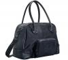 QUINNY Tasche It-bags Round Black + Mini-Set für Speisen rot + Lätzchen rot