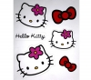 HELLO KITTY 4 Sticker Hello Kitty (077460)