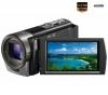 SONY HD-Camcorder Handycam HDR-CX130E - Schwarz + Tasche  + HDMI-Kabel HDMI-Stecker - Mini-HDMI-Stecker, vergoldet (1,5 m)