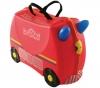 TRUNKI Trunki Freddie Koffer 4 Rollen 30 cm Rot (9220007) + TSA-Kofferschloss mit Schlüssel (Sortiment) (338)