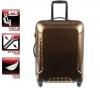 DELSEY + Inbox Hartschalen-Trolley 4 Rollen 63 cm Kupfer (00 0623810) + Gepäckwaage (2003)