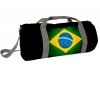 KOTHAI Sporttasche 20 cm Brazil Flag Schwarz