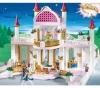 PLAYMOBIL 4250 Märchenschloss mit Prinzessinnenkrone + 4252 Königliches Badezimmer + 4253 Schlafgemach + 4254 Amme mit Babywiege