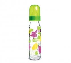 DBB REMOND Babyflasche Régul'Air Küken mit grünem Deckel (240 ml)