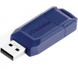 VERBATIM USB-Stick Store 'n' Go Classic - 64 GB + Etui USB-201K - Schwarz + USB-Hub 4 Ports UH-10